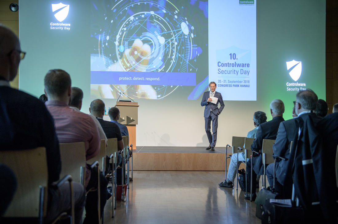 10. Controlware Security Day im Congress Park Hanau am 20.09.18.
