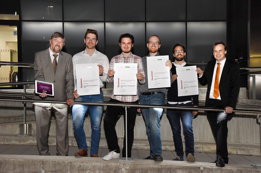 Die Controlware-Preisträger des Doerte-Wörner-Preis 2018.