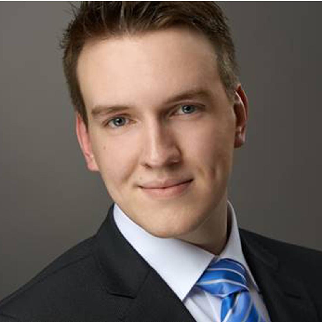 Foto von Marco Wolfstädter, absolviert ein duales Studium bei Controlware.