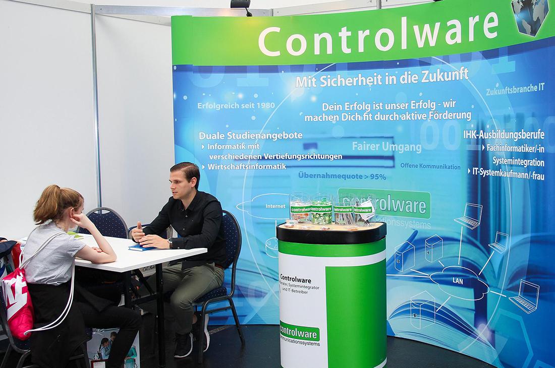 Fotos Controlware auf Jobmesse Vocatium