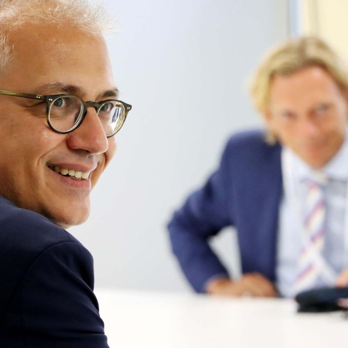 Wirtschaftsminister Al-Wazir zu Besuch bei Controlware