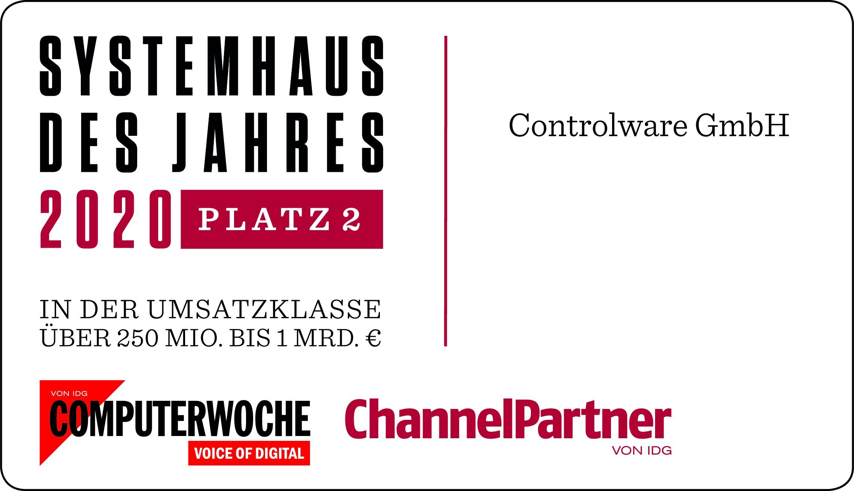 <span>Controlware zählt zu den Top-Systemhäusern Deutschlands </span>