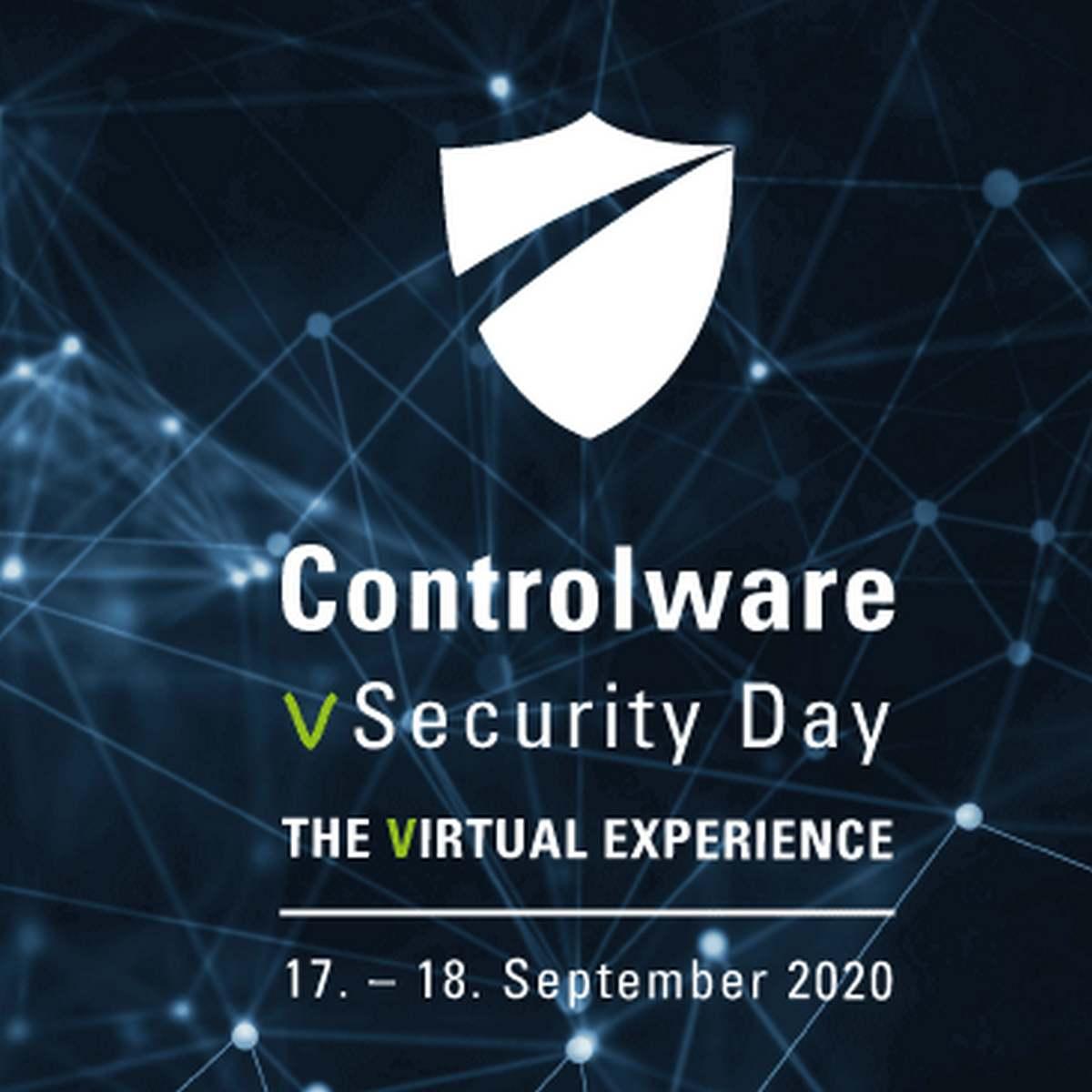 """Einladung zum """"Controlware vSecurity Day"""" 2020"""