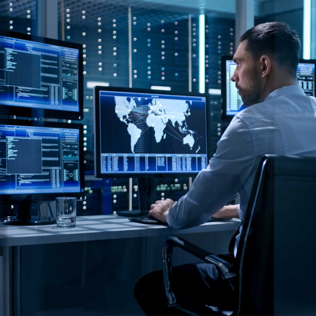 Wir machen IT-Systeme sicher: mit dem Controlware Vulnerability Management Service