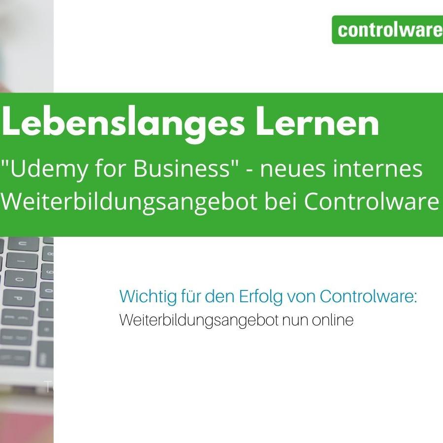 'Udemy For Business': Controlware unterstützt Mitarbeiter mit neuem internen Weiterbildungsangebot